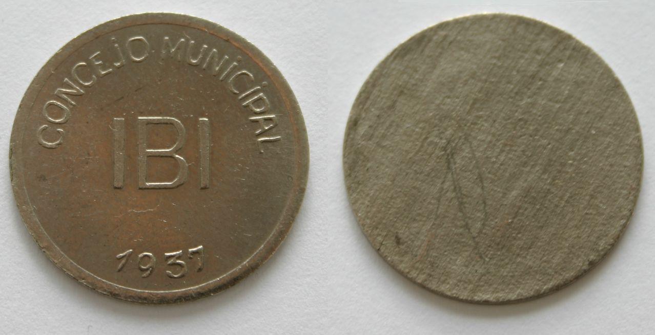 Pruebas de las monedas de 1 peseta de Ibi en níquel IMG_1191