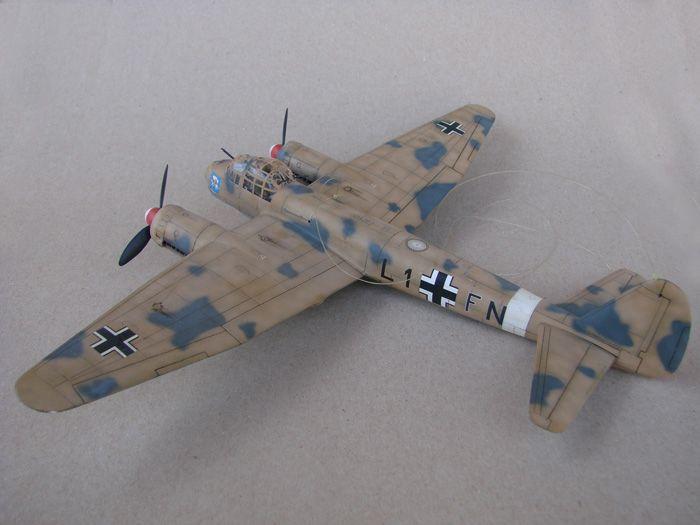 Junkers Ju-88A-4, Revell(rebuild), 1/72 DSC03191