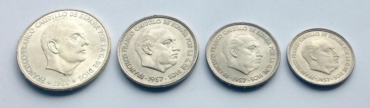 25 pesetas 1957 (*67). Estado Español. Opinión IMG_3525