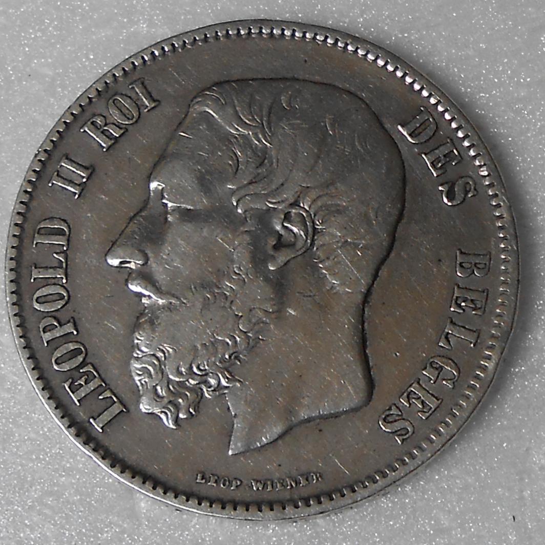 duro belga 1869 Leopoldo II DSCN1070_a