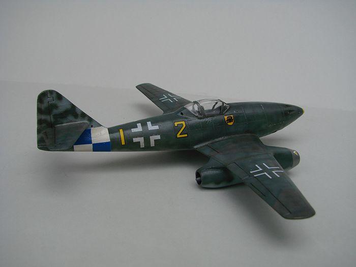 Messerschmitt Me-262 A-1a, stari Revell, 1/72 REBUILD DSC04339