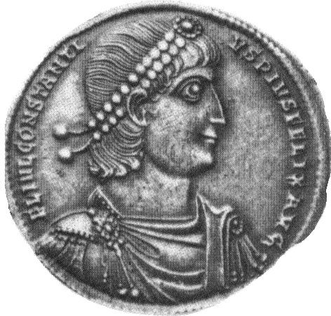 Glosario de monedas romanas. DIADEMA. Image