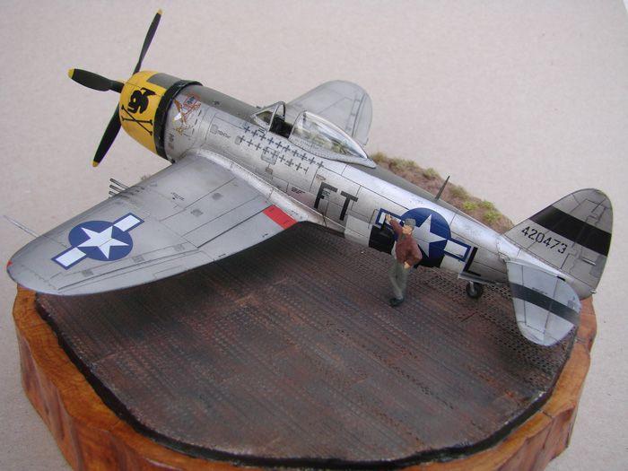 P-47D-30RE Thunderbolt, Revell, 1/72 DSC03166