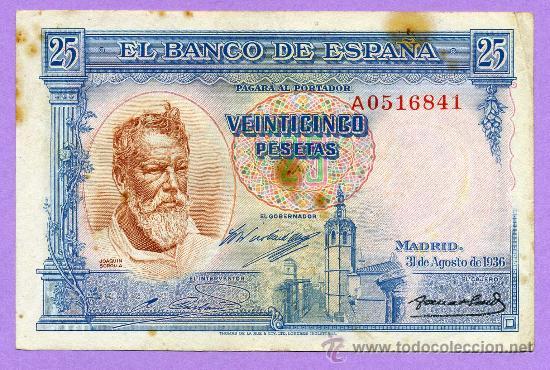Billetes de necesidad San Estaban de Gormaz (Soria) 25_pesetas_sorolla