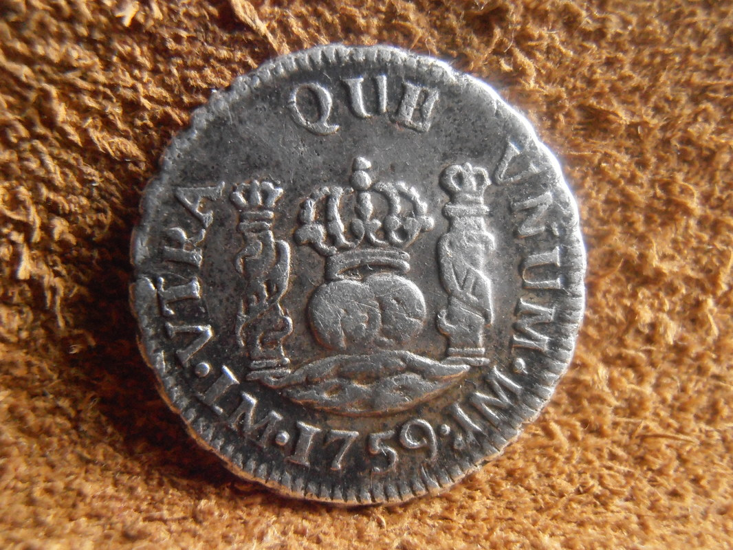 1/2 Real Fernando VI ceca de  Lima(1759) P3040019
