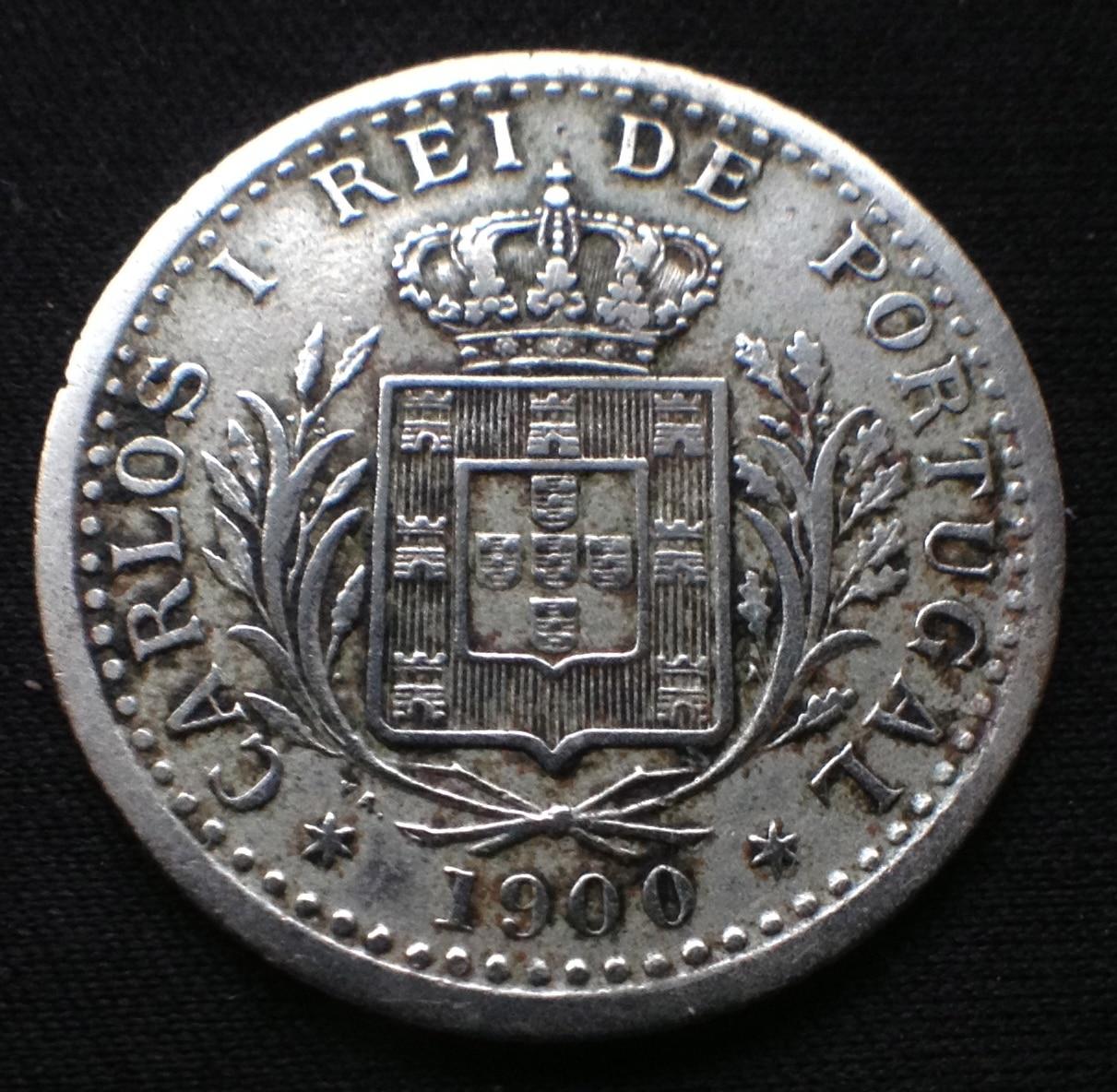 100 reis 1900- Carlos I Portugal IMG_2280