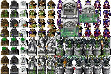 recherch tilesets cimetier VX ace Graveyard