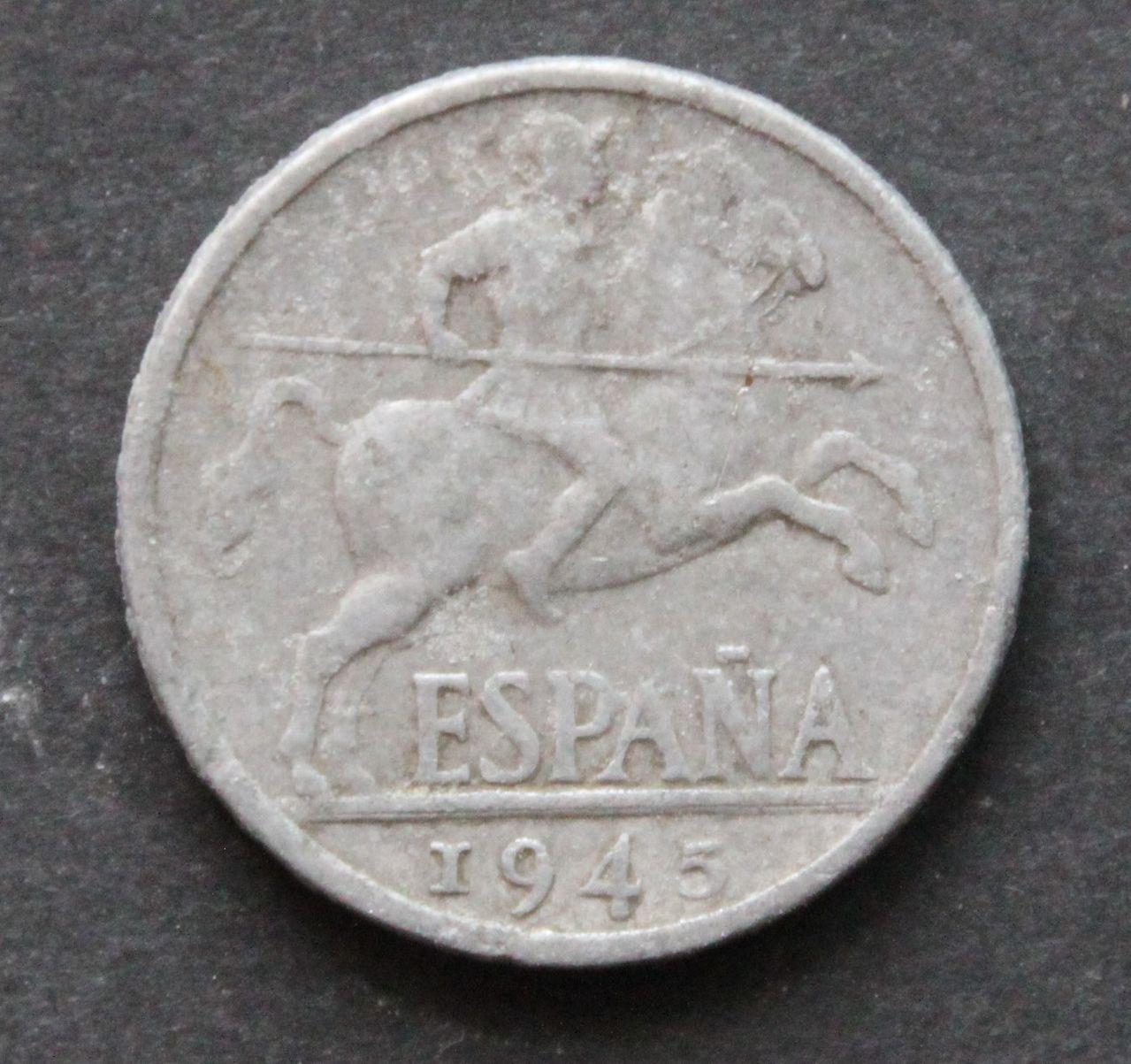 otros 10 céntimos estado español, año 1945 IMG_1376