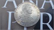 8 Reales 1809 Fernando VII Mexico ( busto imaginario ) 20150429_173237