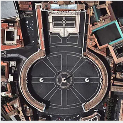 siége du Vatican : siége phallique = shiva linga Phallus_et_vatican