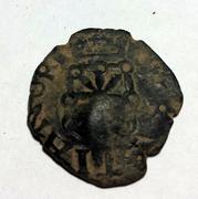 4 Cornados navarros de Felipe II resellados a IIII maravedies de 1603, Toledo. 11a