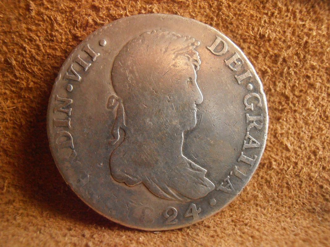 4 Reales 1824 Fernando VII. Sevilla J. PC050009