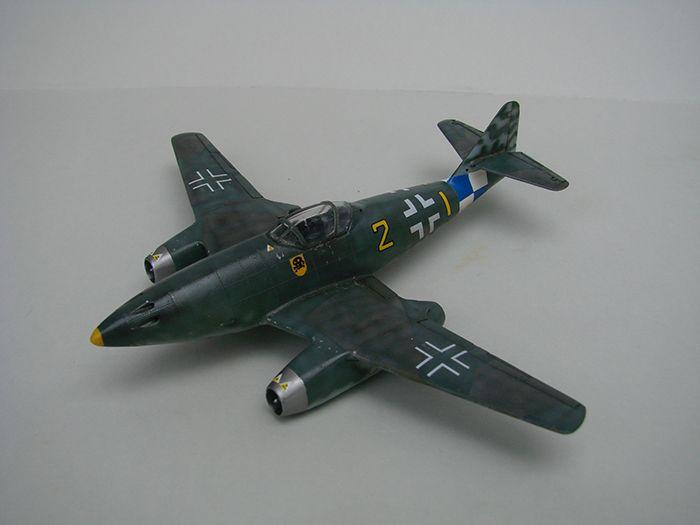 Messerschmitt Me-262 A-1a, stari Revell, 1/72 REBUILD DSC04337