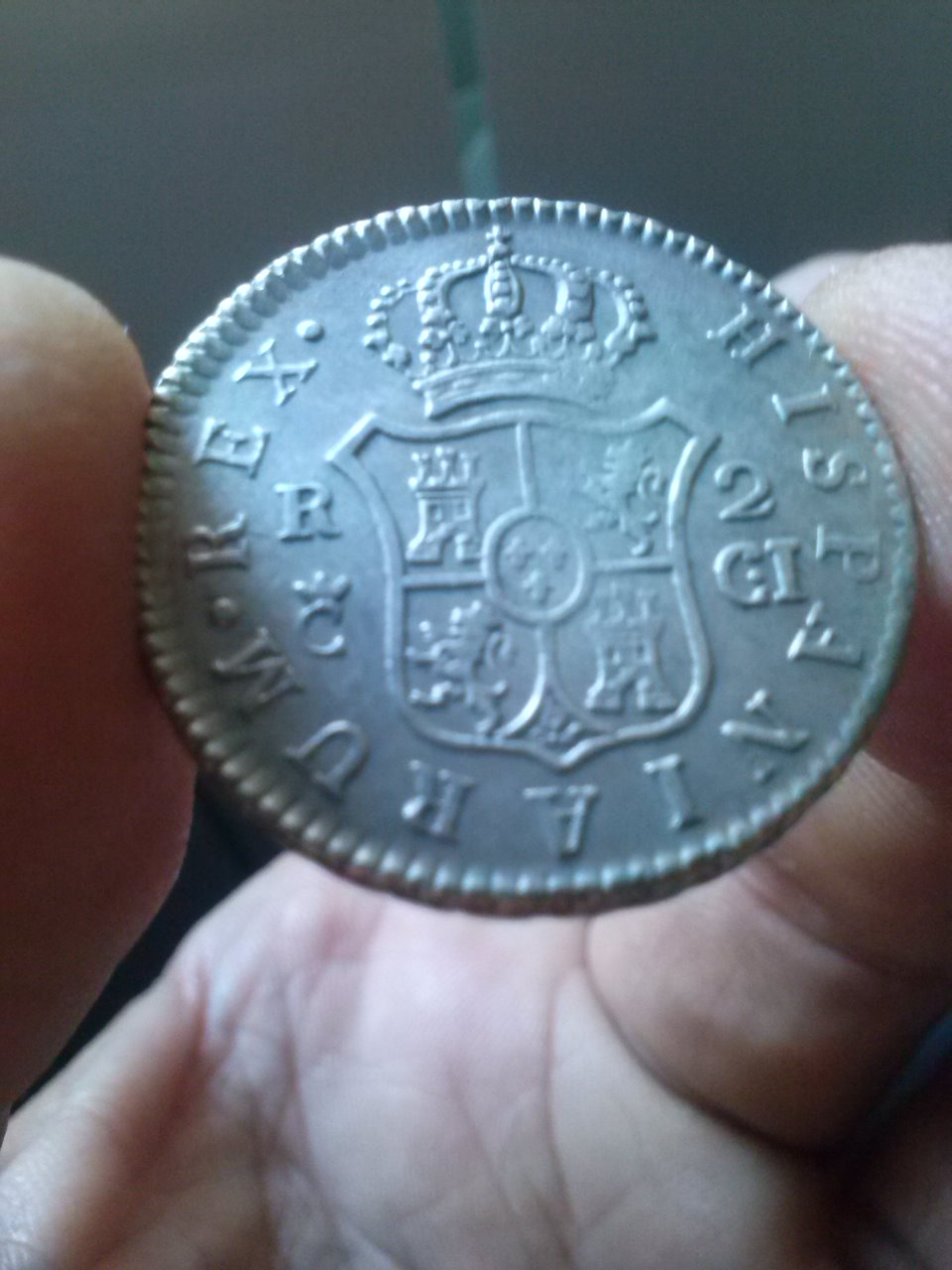 2 reales 1812  FVII Cadiz CI CAM00464