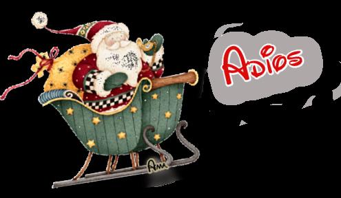 Linda Navidad Ho Ho Ho !! ADIOS