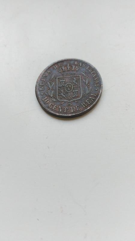 10 centimos de real 1857. Isabel II. Segovia IMG_20171211_172807