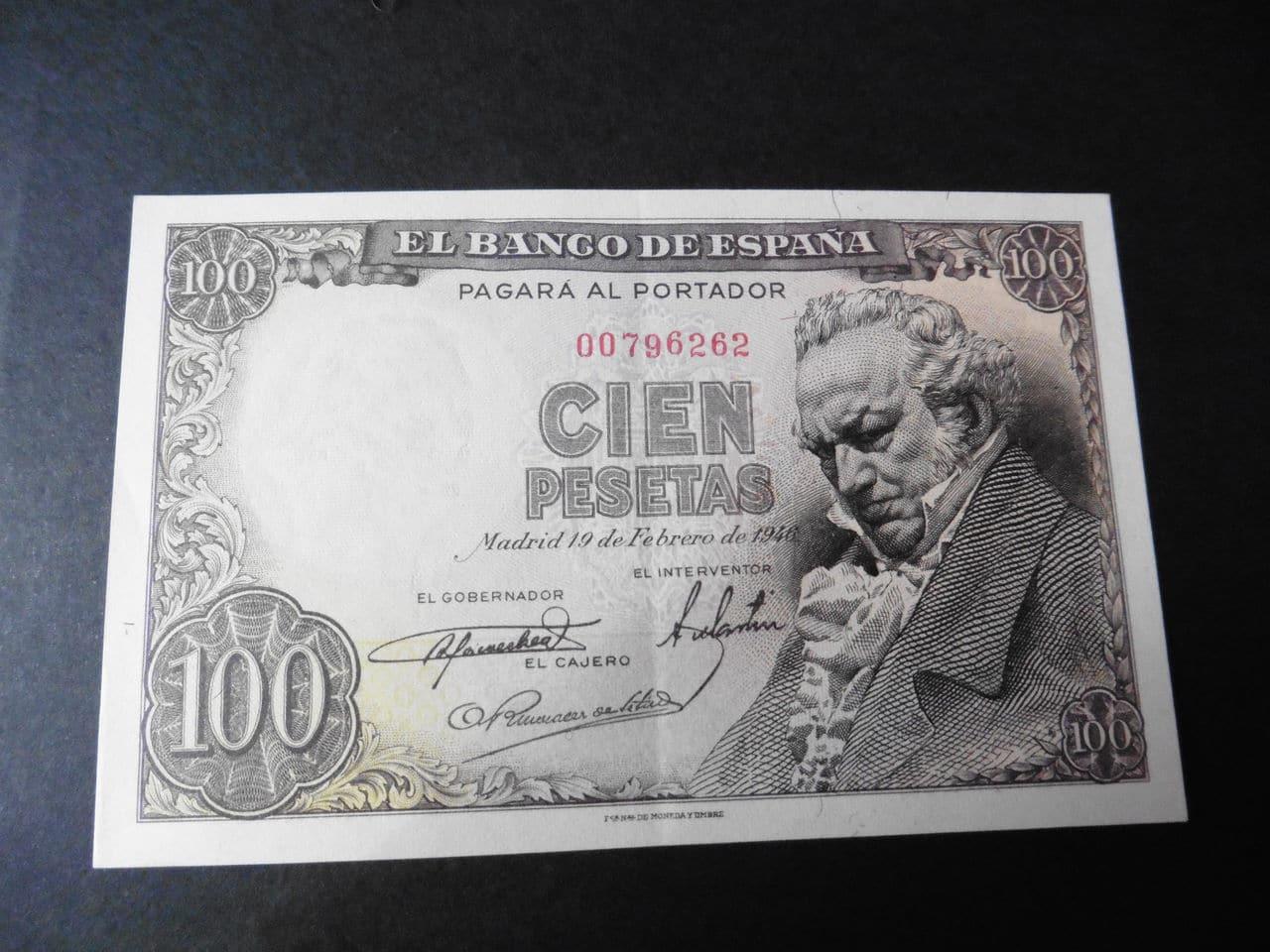 100 pesetas 1946 P1000391