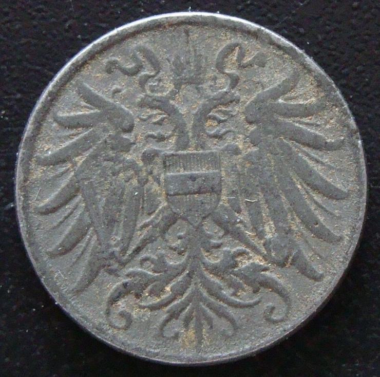 2 Heller. Imperio Austro-húngaro (1918) AUT_2_Heller_1918_anv