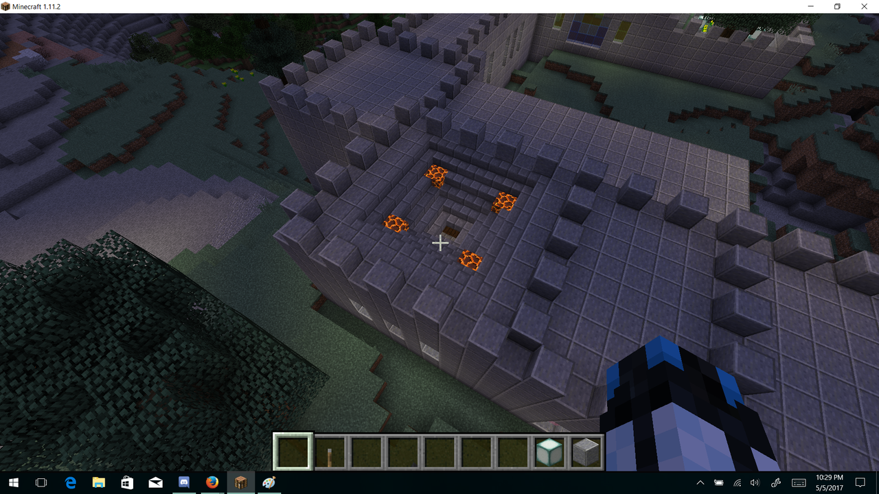 Minecraft Creations Brewing_Room_Castle_Roof