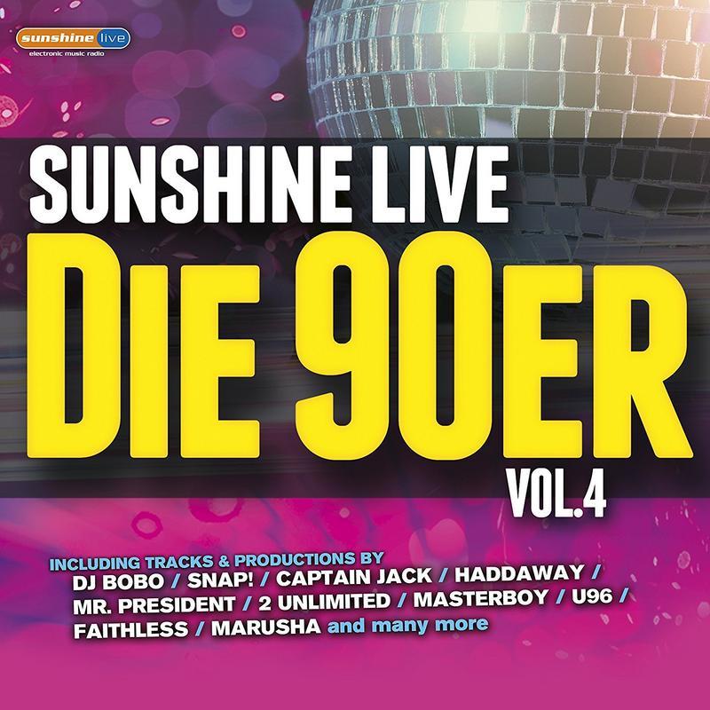 Sunshine Live-Die 90er Front