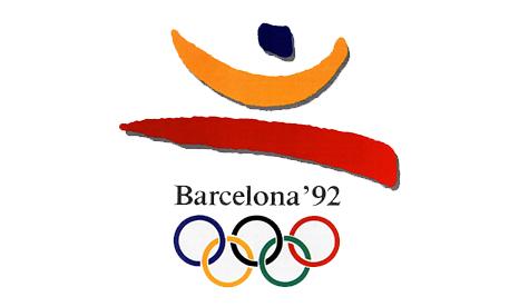 Juegos Olímpicos 1992 - Final - España Vs. Polonia (1080p/384p) (Sonido ambiente/Castellano) Logo_JJOO_Barcelona_1992