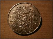 2 1/2 gulden Holanda 1960  PB020253