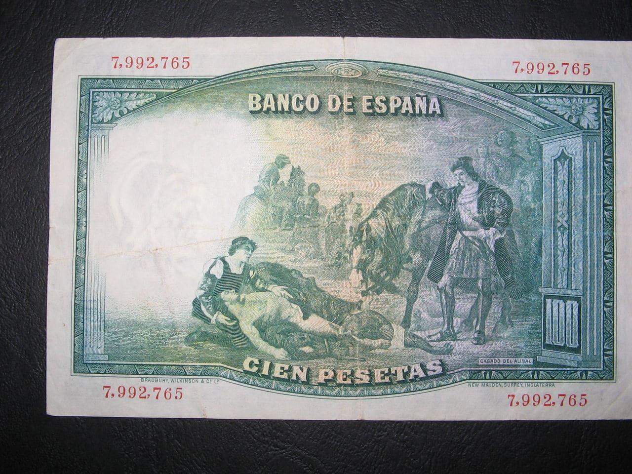 100 Pesetas, 1931 Image