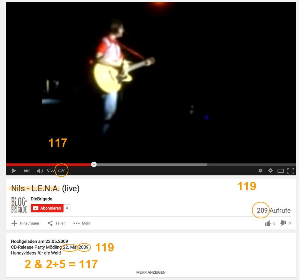 Die Zahlen 711/117 und 911/119  Lena_Nils