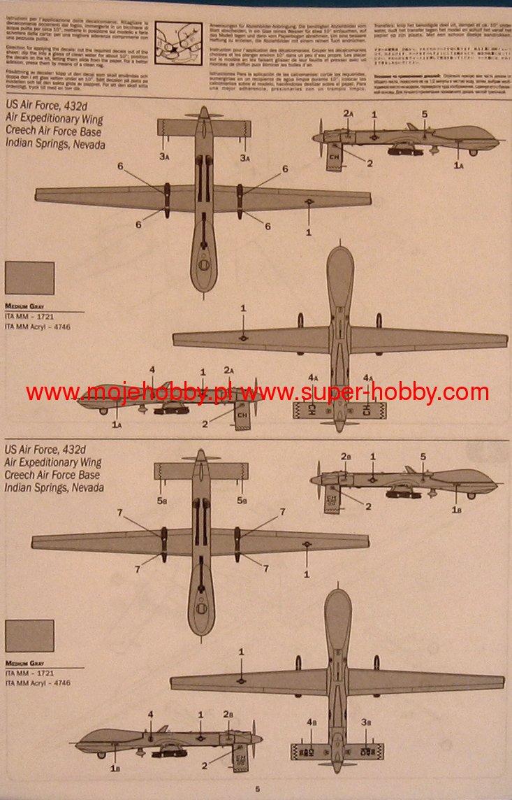 DRONE MQ-1A/B PREDATOR 1944_2_ita1289_3