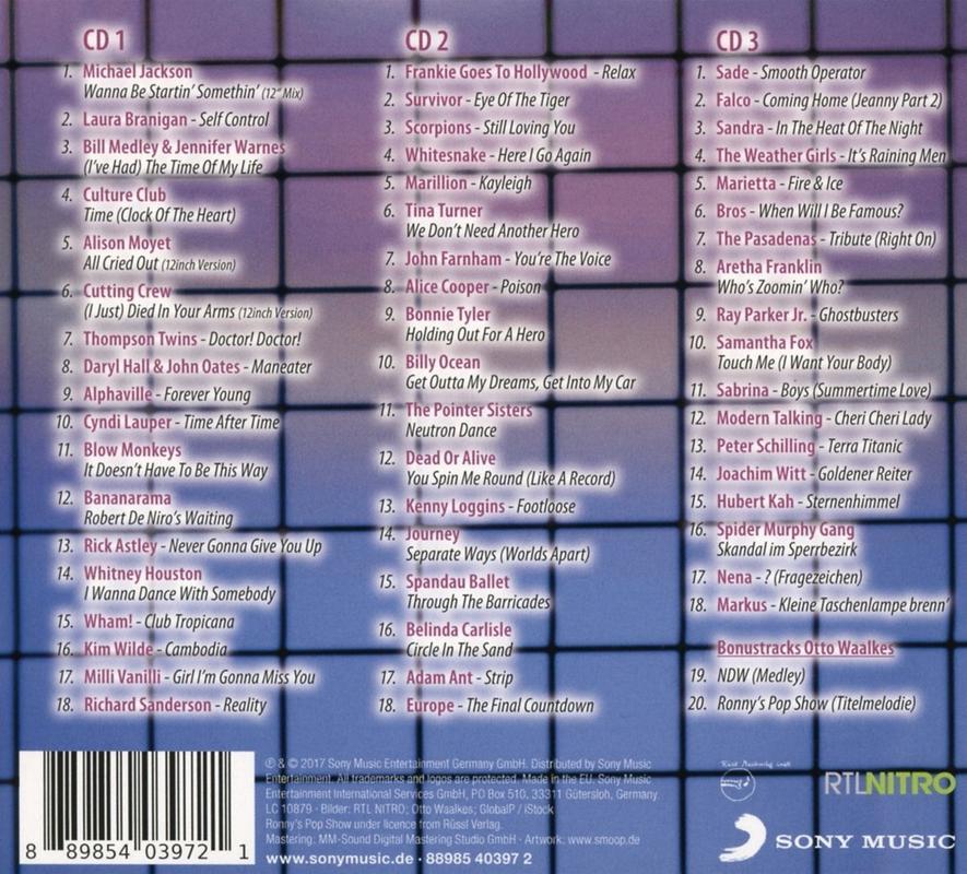 Ronys Pop Show Best Of 3cd(320) RONNYS_1