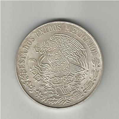 25 Pesos mejicanos Benito Juarez 1972 25_pesos_Juarez_1972_rev