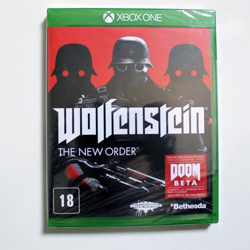 [Dual Games] Vários Jogos Novos Lacrados em até 12 vezes sem juros com Frete Grátis! Wolfenstein