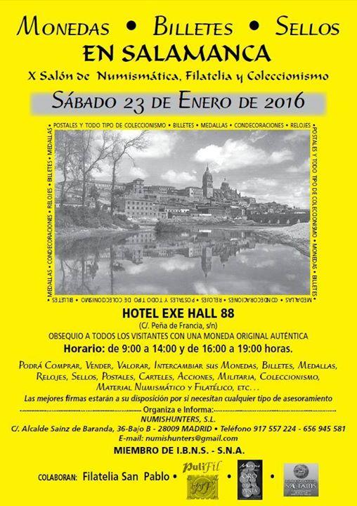 Convención Salamanca, Sábado 23 Enero 2016  Sl16