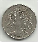Monedas que representen árboles 10_centavos_de_dolar_de_zimbabwe_r