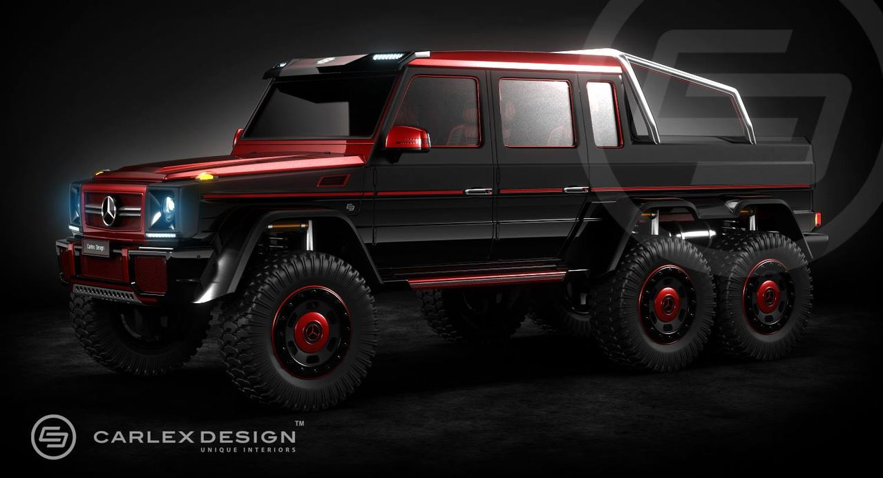 Транспорт для выезда в лес - Страница 4 Carlex_Design_dorabotayut_Mercedes_Benz_G_63_AMG