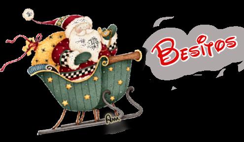 Linda Navidad Ho Ho Ho !! BESITOS