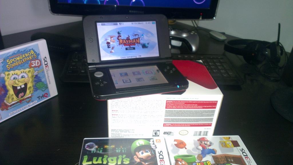 [تم البيع] 3DS XL مع افضل لعبتين بسعر مميز - السعودية,جدة 111