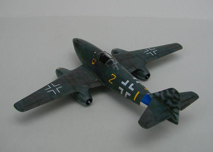 Messerschmitt Me-262 A-1a, stari Revell, 1/72 REBUILD DSC04338