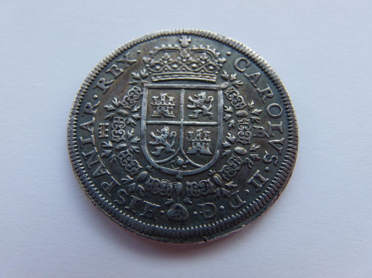 "8 Reales 1687 ""MARIA"" P5250936"