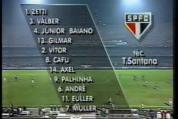 Copa Libertadores 1994 - Final - Vuelta - Sao Paulo Vs. Vélez Sarsfield (480p) (Portugués) Image