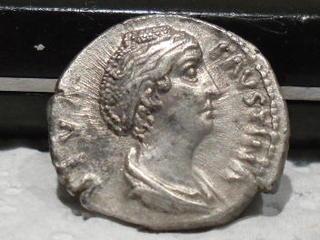 Denario de Faustina I. AVGVSTA. Ceres. Ceca Roma. SAM_3961