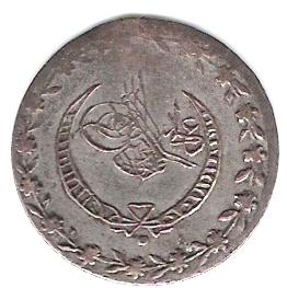 20 Para. Turquía (1836) TUR_20_Para_anv