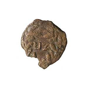 Prutah (Leptón) de Poncio Pilato. Jerusalén L IZ año 17 de Tiberio (30 - 31 d. C.) Reverso_moneda_de_Pilatos