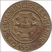 ¿Cuántas monedas componen la serie de Menorca completa? Menorca_1_pta