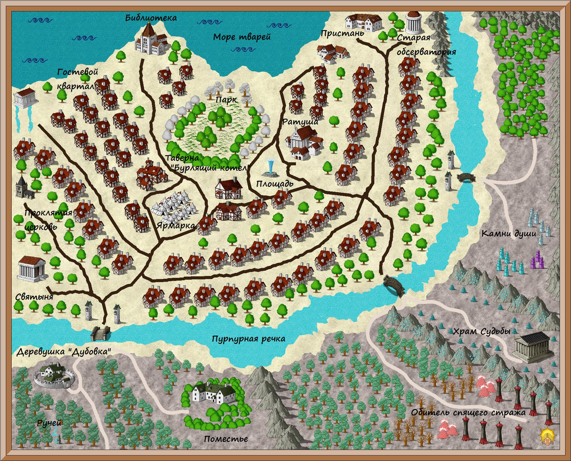 Карта KBp98