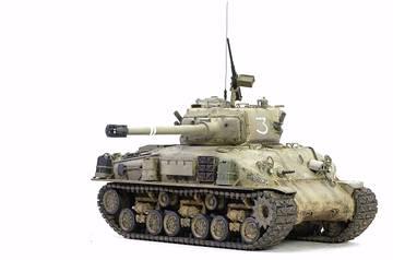 M51 Super Sherman. Tamiya 1/35 3A1ET