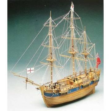 """""""HMS Endeavour"""", Mantua, 1/60 WD587"""