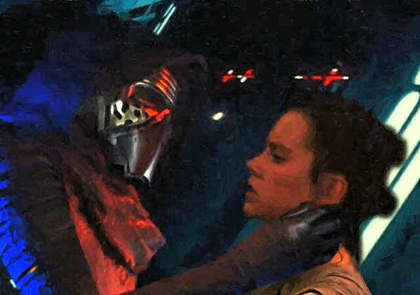 ARCHIVE: Rey and Kylo - Beauty and the Beast, Scavenger and the Monstah, Their Bond, His Love, Her Confused Feelings - 5 - Page 40 Ren-rey-star-wars-kylo-Favim.com-3814819