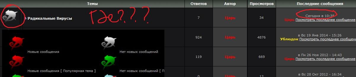 Не работают новые сообщения. 1db057482843cb1c4c10922e0abc27b9