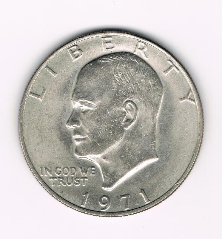 1 Dollar. U.S.A. 1971. Philadelphia One_dollar_b